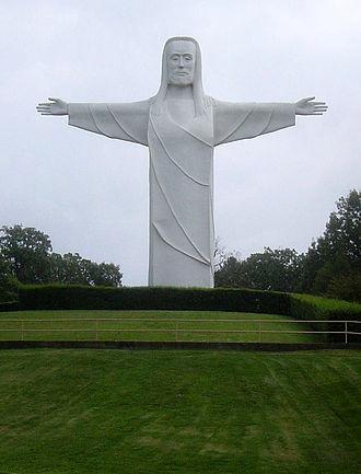 Christ of the Ozarks - Image: 09 02 06 Christof Ozarks