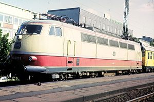 IVA 65 - The E 03 high speed locomotive