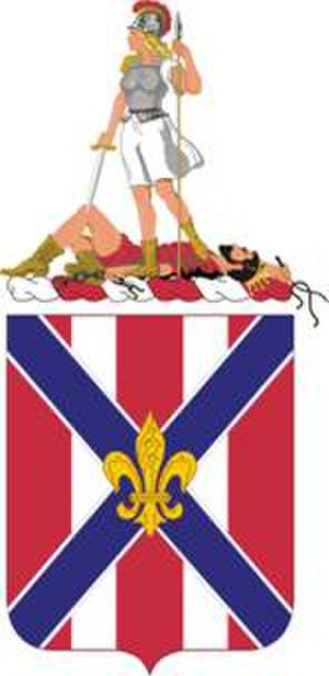 111th Field Artillery Regiment - Coat of arms