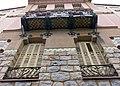 118 Casa Barbey, façana oest (la Garriga).JPG