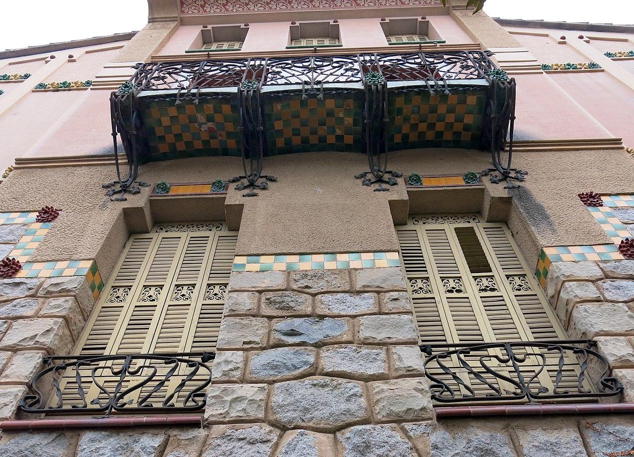 File 118 casa barbey fa ana oest la garriga jpg wikimedia commons - Casa la garriga ...