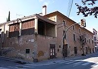146 Can Mandri, av. Catalunya 24 (Sant Andreu de Llavaneres), cantonada c. Sant Joan.JPG