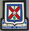 154th Infantry Strike in Stride Patch, Florida National Guard; 124th Infantry lineage.JPG
