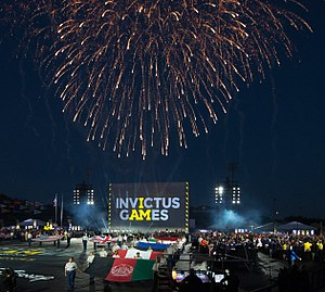 Champion Stadium - Opening ceremony of the 2016 Invictus Games