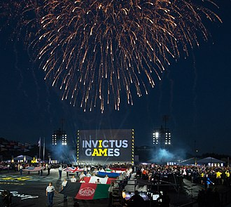 Champion Stadium - Opening ceremony of the 2016 Invictus Games