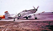 166th Fighter Squadron - North American F-51D-25-NA Mustang 44-73029
