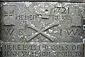 1721 Gravestone. St Fergus's kirkyard, St Fergus - geograph.org.uk - 272021.jpg