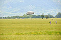 173rd Airborne Brigade lands after a jump June 19, 2014 from a 12th Combat Aviation Brigade CH-47 Chinook helicopter at Juliet Drop Zone in Pordenone, Italy 140619-A-KP807-001.jpg