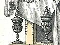1861-09-21 Ernst August Album, S. 099, Tafel IV Ausschnitt, Zimmeramt Hannover, Meisterpokal von 1726, Gesellenpokal von 1771.jpg