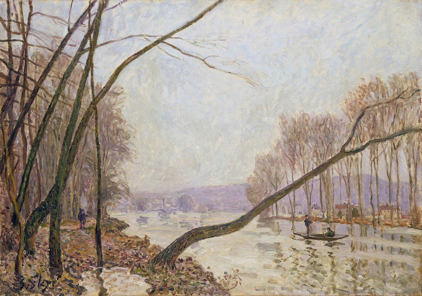 Bank of the Seine in Autumn