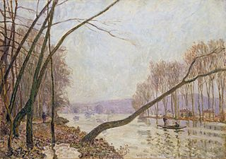 Bank of the Seine in Autumn