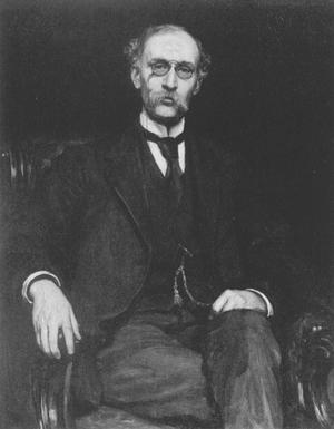 Robert Treat Paine (philanthropist) - Portrait of Robert Treat Paine by Hubert von Herkomer, 1884