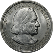 307e2b0fb Columbian half dollar - Wikipedia