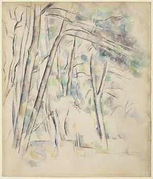 Henry Pearlman - Paul Cézanne, Cistern in the Park of Château Noir, 1895-1900