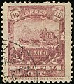 1895issue 10c Mexico oval Yv138.jpg