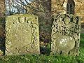 18th Century Gravestones, Hanwell.JPG