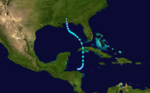 1922 Atlantic tropical storm 5 track.png