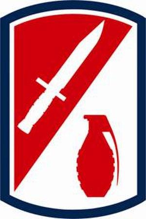 192nd Infantry Brigade (United States) - Shoulder sleeve insignia