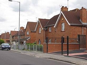 Knowle West - Image: 1930s Council housing, Knowle West Bristol