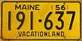 1956 Maine license plate.JPG