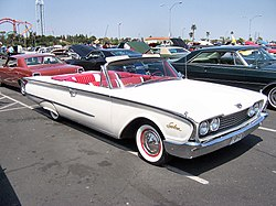Ford 1960 on 1964 ford galaxie 500 convertible