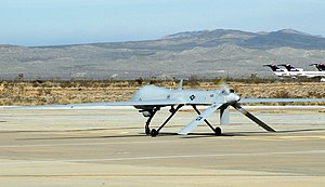 196th Reconnaissance Squadron - 196th Reconnaissance Squadron General Atomics MQ-1 Predator 03-33123 takes its first flight on 25 February 2009.