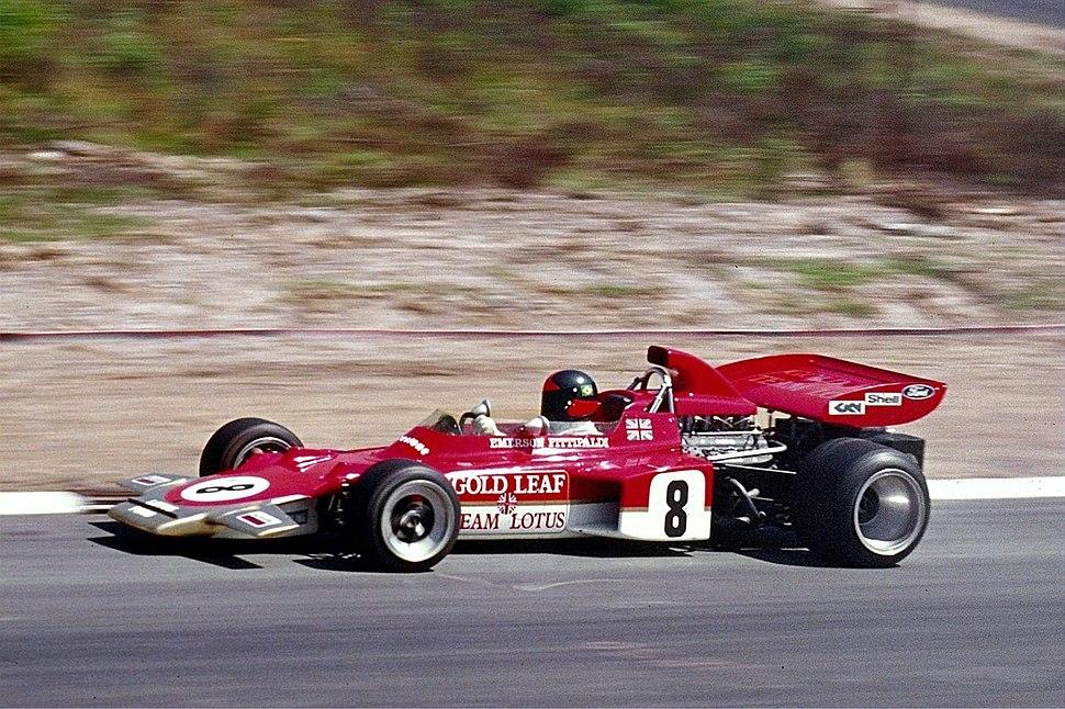 1971 Emerson Fittipaldi, Lotus 72 (kl)
