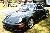 1976 Porsche 911 Turbo Type 930 photographed a...