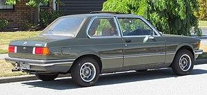 BMW 3 Series - 1978 BMW 320 (New Zealand)