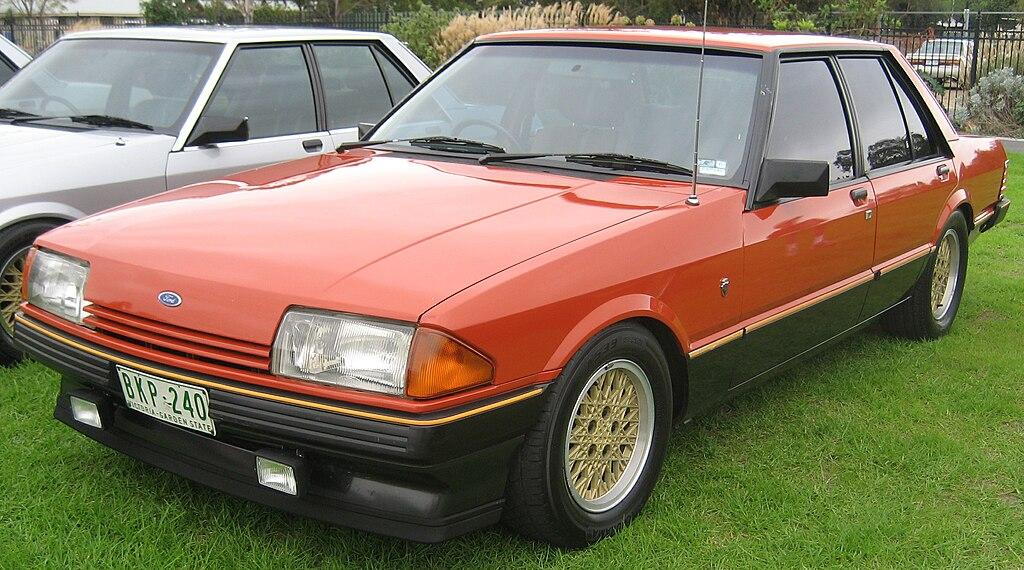 1982 Ford Fairmont (XE) Ghia ESP sedan (5467916028).jpg