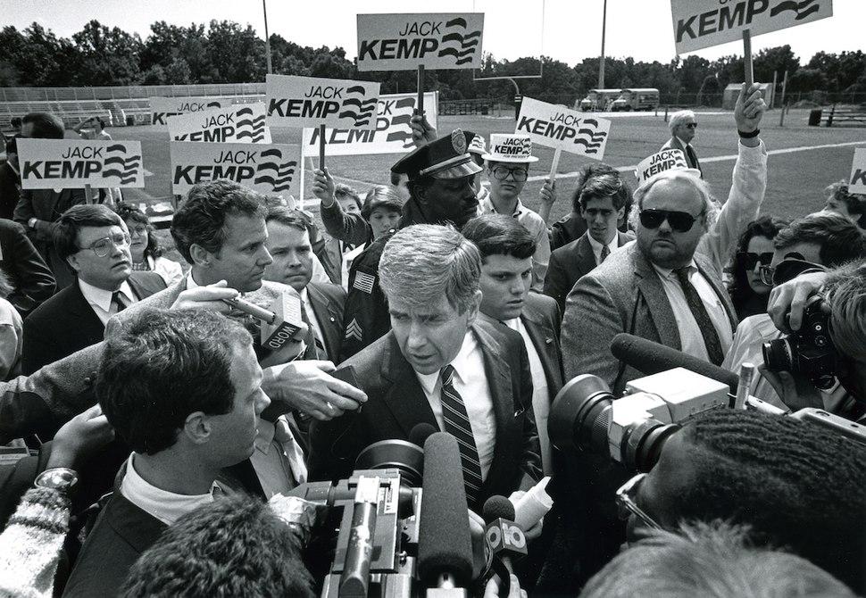 19871003 Jack Kemp Rally