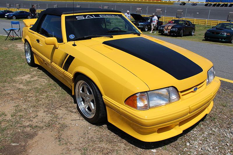 File:1993 Ford Mustang Saleen SC Convertible (14228540957).jpg