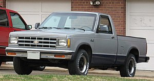 Chevrolet S-10 - 1982–1990 Chevrolet S-10 single cab