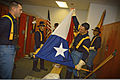 1st Cavalry Division Honor Guard at 2010 ALDS Game 4 3.jpg