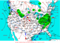 2003-03-06 Surface Weather Map NOAA.png