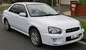 2005 Subaru Impreza (GD9 MY05) GX sedan (2015-07-03) 01.jpg