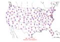2006-07-12 Max-min Temperature Map NOAA.png