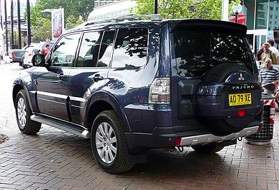 Mitsubishi Pajero - Wikiwand