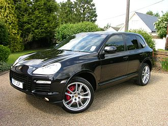 Porsche Cayenne - Porsche Cayenne Turbo (UK; facelift)