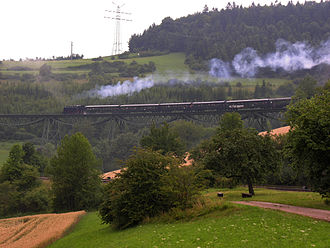 Blumberg - Sauschwänzlebahn, The Wutach Valley Railway