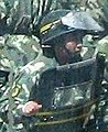 2008 China's Violence Troop and Truck in Lithang, Tibet 中國在西藏 - 圖博理塘的軍卡運兵車 (cropped).jpg