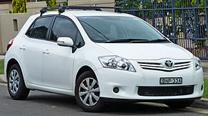 English: 2009–2010 Toyota Corolla (ZRE152R) As...