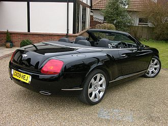 Bentley Continental GT - Bentley Continental GTC