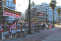 2009 Uruguayan primary elections - Campaign on the Montevidean rambla 1.jpg