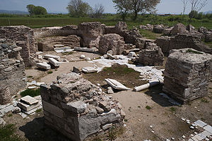 Mosynopolis - A central plan church in Mosynopolis