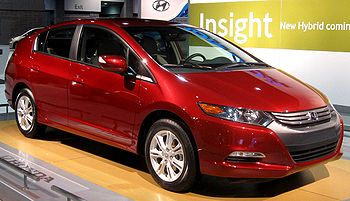 2010 Honda Insight photographed at the 2009 Wa...