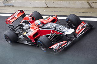 Virgin MVR-02 racing automobile