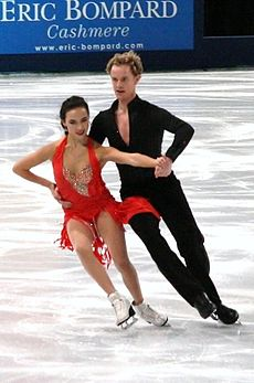 Madison Chock und Evan Bates