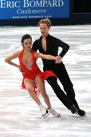 Madison Chock - Chock and Bates at the 2011 Trophée Éric Bompard