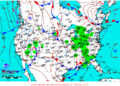 2012-02-14 Surface Weather Map NOAA.png